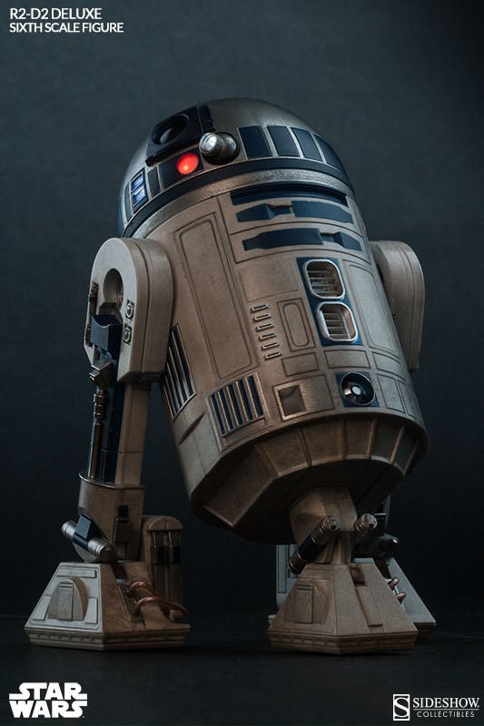 R2 D2 Deluxe Star Wars Episode Iv 1 6 Scale Collectible